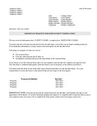 Employer Income Verification Letter Filename Infoe Link