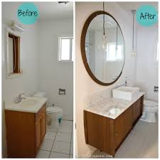 before and after mid century modern bathroom bathroom mid century