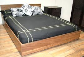 simple wood headboard queen bed frame wonderful blueprints king size plans farmhouse diy