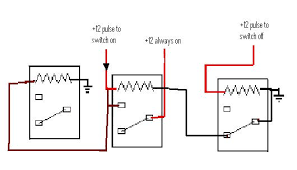 single pulse to lock and unlock using a mechanical latching relay 12 Volt Latching Relay Diagram click image for larger version name yes indeed jpg views 1 size 12V Relay Diagram