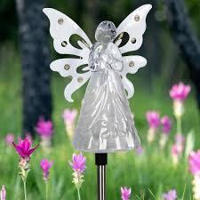 exhart solar angel 2 82 ft white