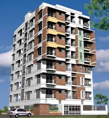 apartment building design. Modern Apartment Building Design Illustration #Buildings #BuildingDesigns # U