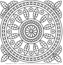 Here kids can color their own mandala filled with dogs, cats, and other cute. Print Free Mandala Coloring Pages Coloring Home