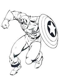 Winter Soldier Coloring Pages Captain Winter Soldier Coloring Pages