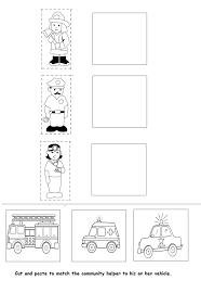 Community Helpers Assessment worksheet | CFA | Pinterest ...