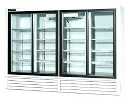 glass front refrigerator decoration gliding door beverage refrigerators with the best materials in terms of used