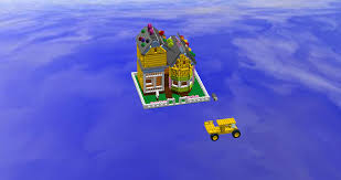 Up House Balloons Lego Ideas Carl And Ellies House From Pixars Up