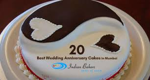 20 Best Wedding Anniversary Cakes In Mumbai Indian Bakers Online