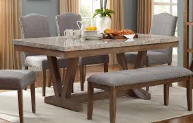 crown mark vesper brushed dust paint rectangle dining table