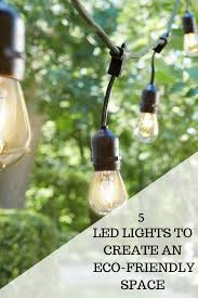 Eco Solar Lights 5 Led Lights To Create An Eco Friendly Space String Lights