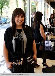 makeup artist graduate jennifer delesoy esmeria at mac pro