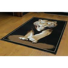 legends animal print out of africa tiger area rug