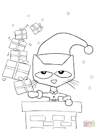 Pete The Cat Coloring Pages For Kids Printable Coloring Page For Kids