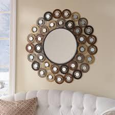 Decorative Mirror Groupings Metallic Dots Mirror Decorative Mirrors Wall Decor And Living Rooms