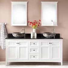 Double Bathroom Sink Cabinet Vessel Sink Vanities Signature Hardware