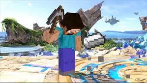 スマブラsp に Minecraft 参戦 スティーブ アレックス ゾンビ エンダーマンが新ファイターに ねとらぼ