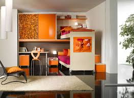 Orange And Black Bedroom How To Decorate Your Bedroom Look Fresh With Orange Color
