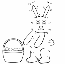 Beautiful Easter Dot To Dot Coloring Pages Top Free Printable