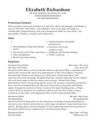 managing editor resume the new york times assistant news editor resume sample westfield