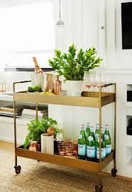 Furniture: Styling Bar Cart For Your Party Ideas - Home Bar Cart