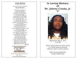 Mr. Johnny Crosby, Jr.