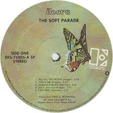 THE DOORS THE SOFT PARADE BUTTERFLY b