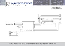 wiring diagrams osram 2x58 70w