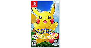 <b>Pokemon</b> Let's Go Pikachu - Pikachu Edition: nintendo switch ...
