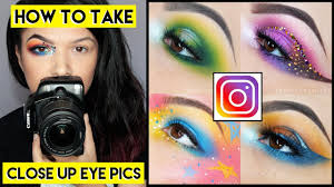 insram how to take close up eye makeup pictures with a dslr
