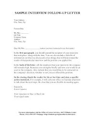 Resume Letter Follow Up Resume Letter Follow Up Interview Follow Up