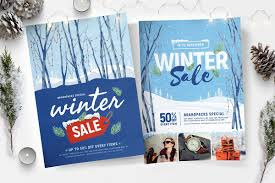 Flyer Poster Templates Winter Sale Flyer Poster Templates