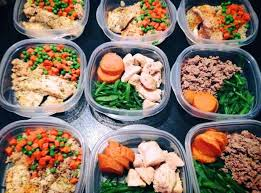 Weekly Lunch Prep Weekly Meal Prep Turkey Fish And Chicken Healthy Meal