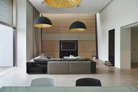 stylish lighting living. stylish black pendants lighting ideas for modern living room decor with wooden tv cabinet and modular sofa set o