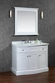 bathroom vanity table with sink. ace montauk 42 inch single sink bathroom vanity set white finish table with v