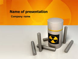 nuclear powerpoint template. Nuclear Fuel PowerPoint Template Backgrounds 05708