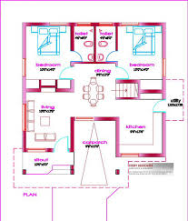 Small House Plans in Kerala   Bedroom   KeralaHousePlanner Attaching Few More Small House Plans and Designs in Kerala