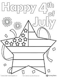 Fourth Of July Printable Coloring Pages Free Printable Of Coloring