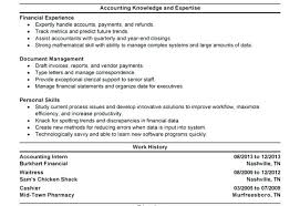 Resume Format For Finance Jobs Accountant Assistant Job Description