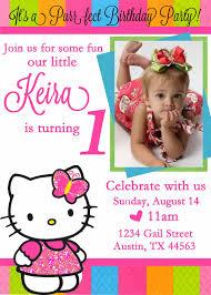 hello kitty birthday invitation cimvitation hello kitty birthday invitation is the newest and best concepts of glamorous birthday invitations 2