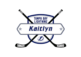 tampa bay lightning personalized name fathead wall decal