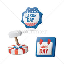 labor day theme labor day theme items vector image 1525651 stockunlimited
