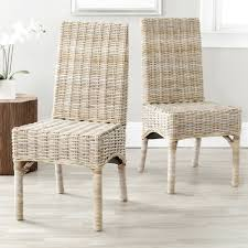 full size of chair white wicker dining chairs for minimalist room decor enchanting your idea outdoor