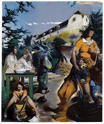 neo rauch aufnahmedavid zwirner aufnahme 2008 oil on canvas 118 1 8