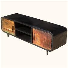 s retro reclaimed wood iron media cabinet tv stand modern rustic reclaimed wood brooklyn modern rustic reclaimed wood