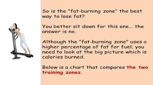 Cardio Training Zone Chart In This Video Fat Burning Zone Vs Cardio Training Zone