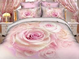 100 cotton duvet covers queen king size bed set luxury pink