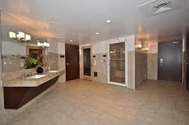 basement bathroom ideas pictures. Big Mirror Plus Wall Lamps Above Wash Basin Near Door Inside Basement Bathroom Ideas Pictures W
