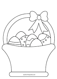 Easter Template Easter Drawing Templates At Paintingvalley Com Explore