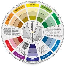 Here's a color wheel that shows most browns are actually dull oranges,  ranging from yellow-orange toward red, so blues (or green for reddish  browns) are ...