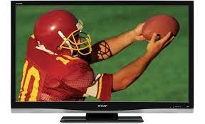 sharp tv canada. sharp lc-42d64u front tv canada
